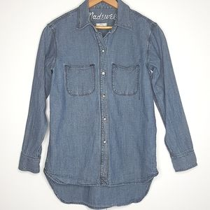 MADEWELL Perfect Ex-Boyfriend Chambray Button Down